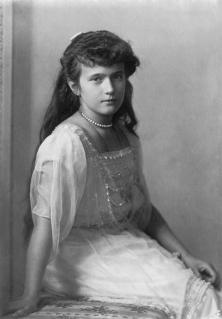 Duchess Anastasia Romanov - courtesy of wikipedia.org