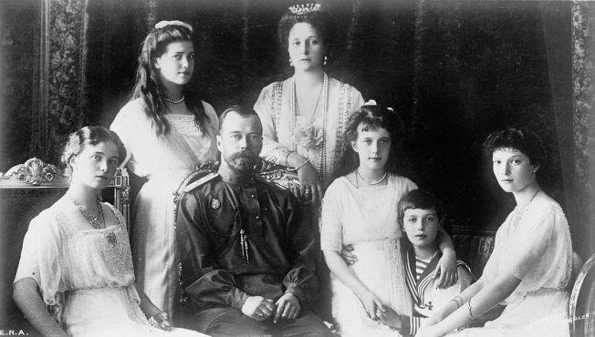 Romanov Family - courtesy of commons.wikipedia,org