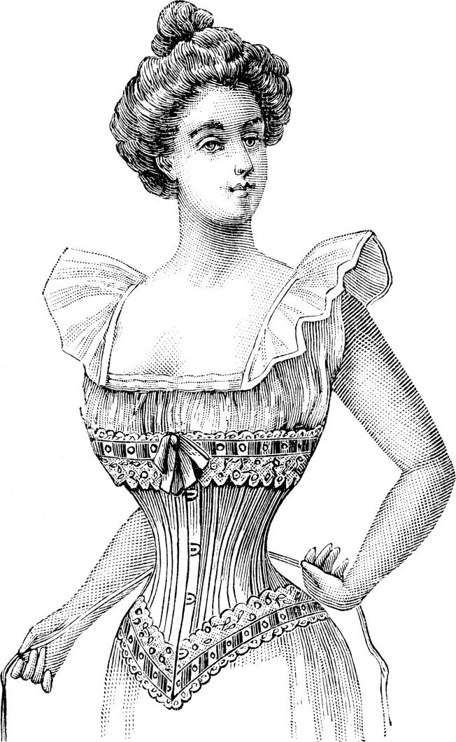 Corset Courtesy of Wikimedia Commons