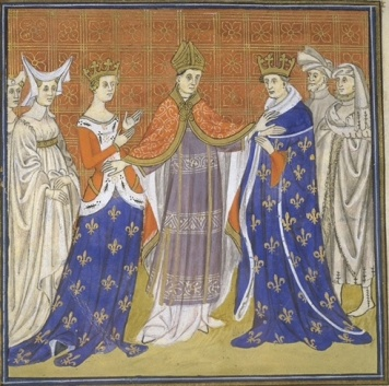 Annulement of Charles the Fair and Blanche of Burgundy wikimedia commons