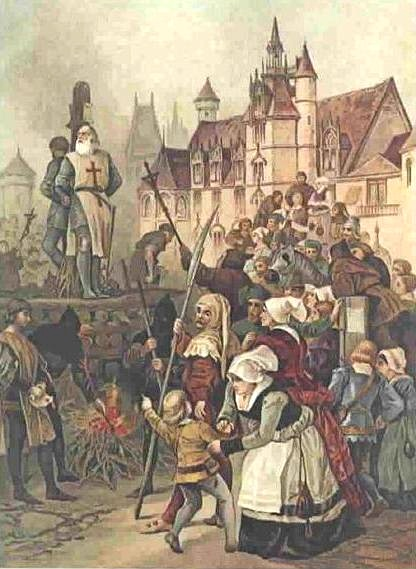 Execution_of_Jaques_Demolay wikimedia commons