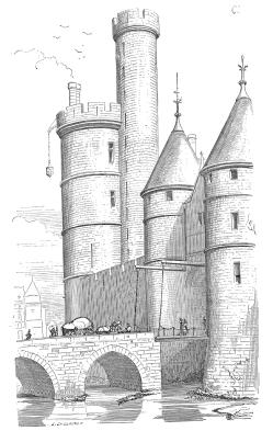 Tour de Nesle (19th Century representation)