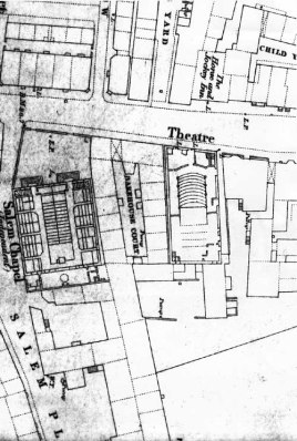 Plan of the Theatre 1847 By kind permission of Leeds Libraries, www.leodis.net